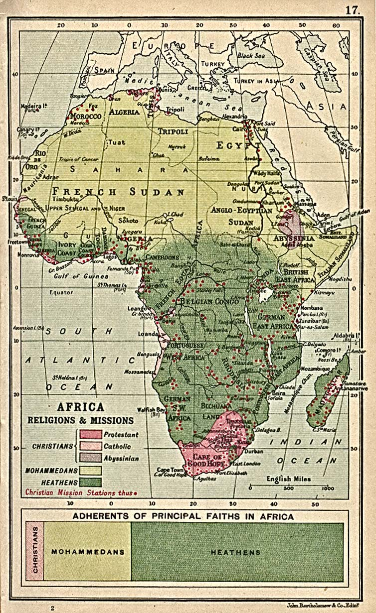 Africa Religions and Missions 1913