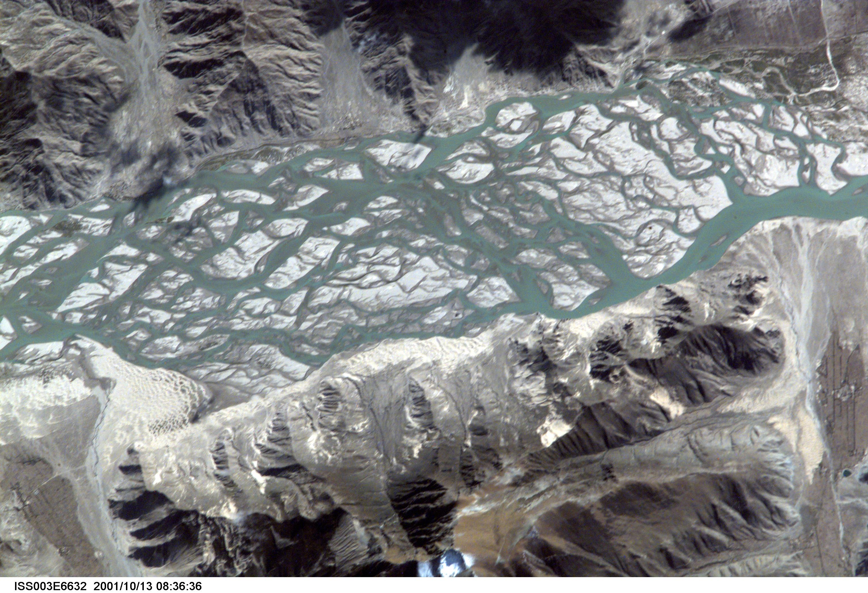 Río Brahmaputra, Tíbet