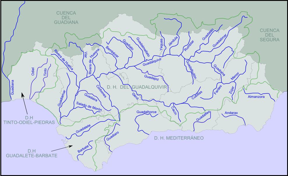 Ríos de Andalucía 2008