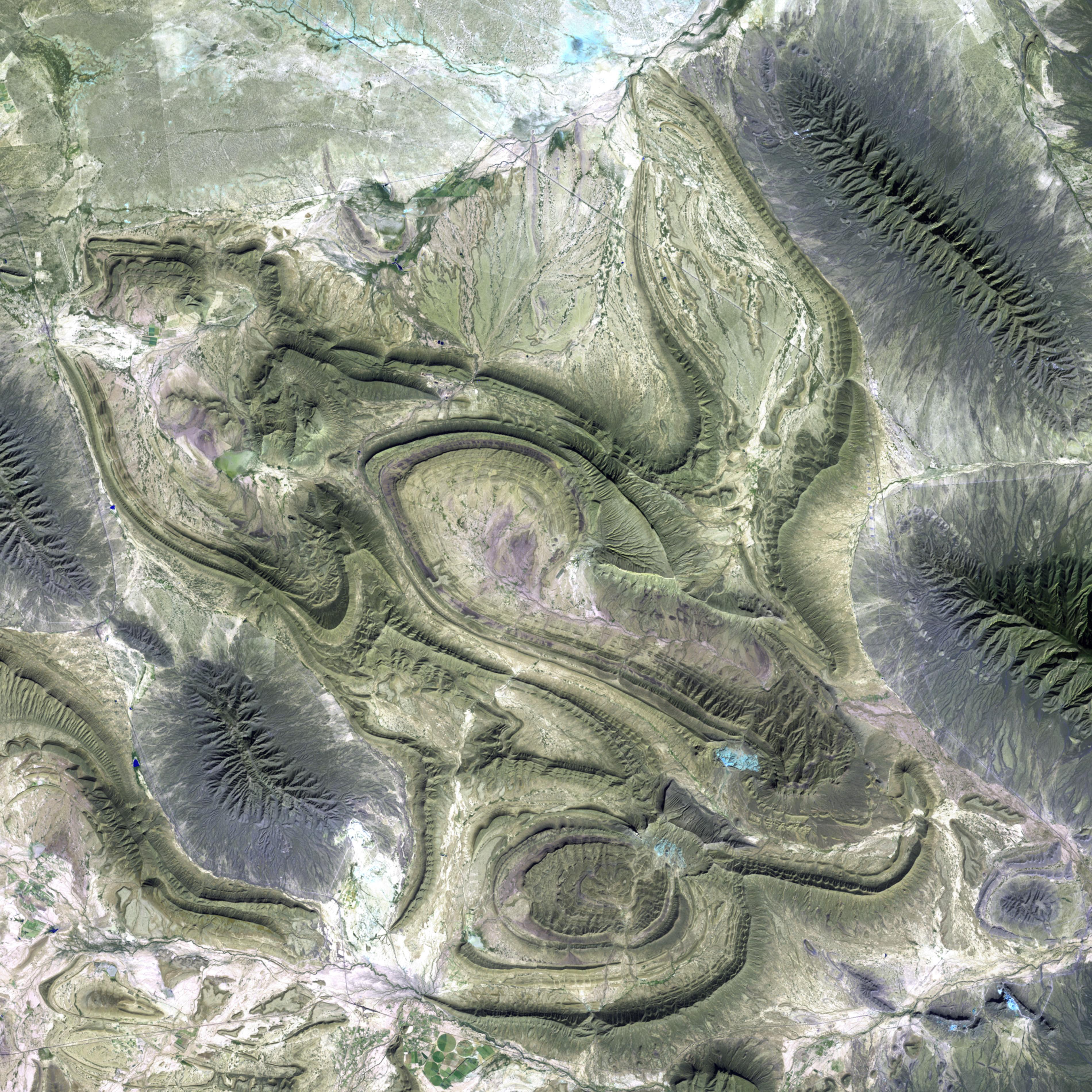 Sierra Madre oriental, frontera entre Coahuila y Nuevo León