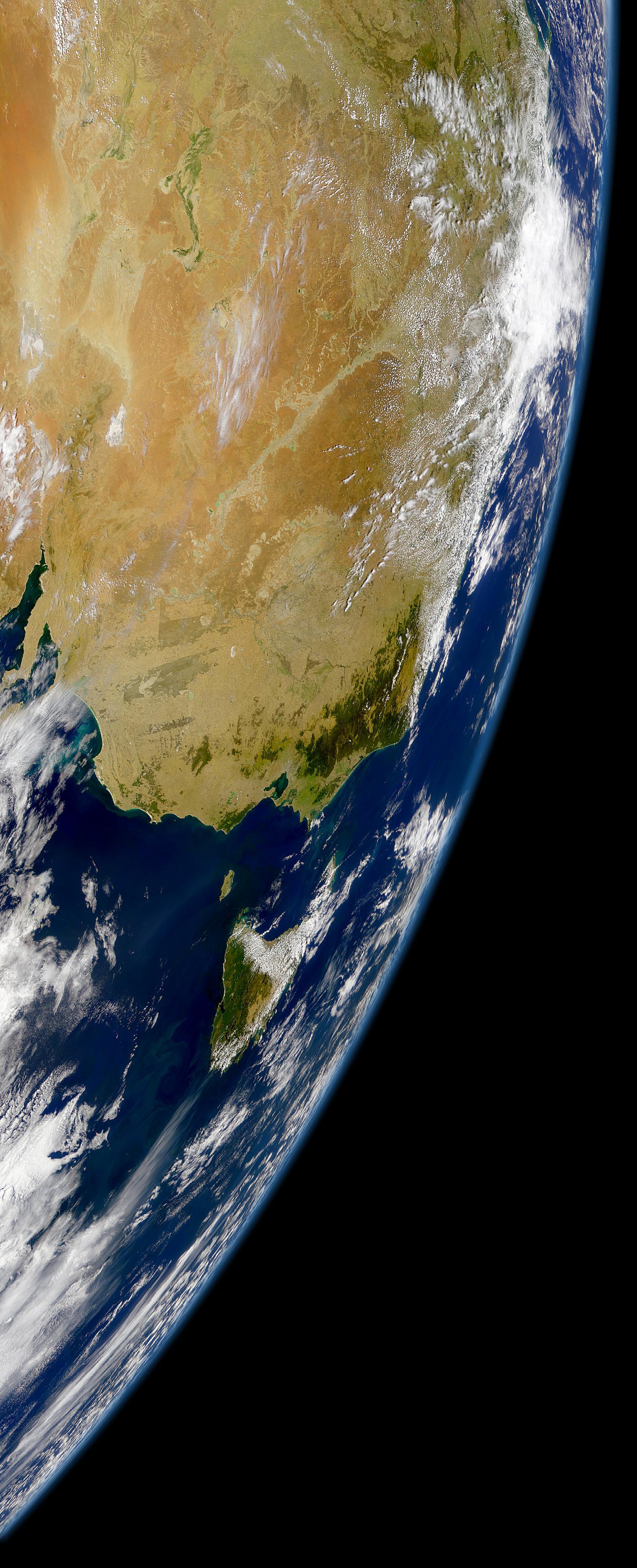 Sureste de Australia y Tasmania