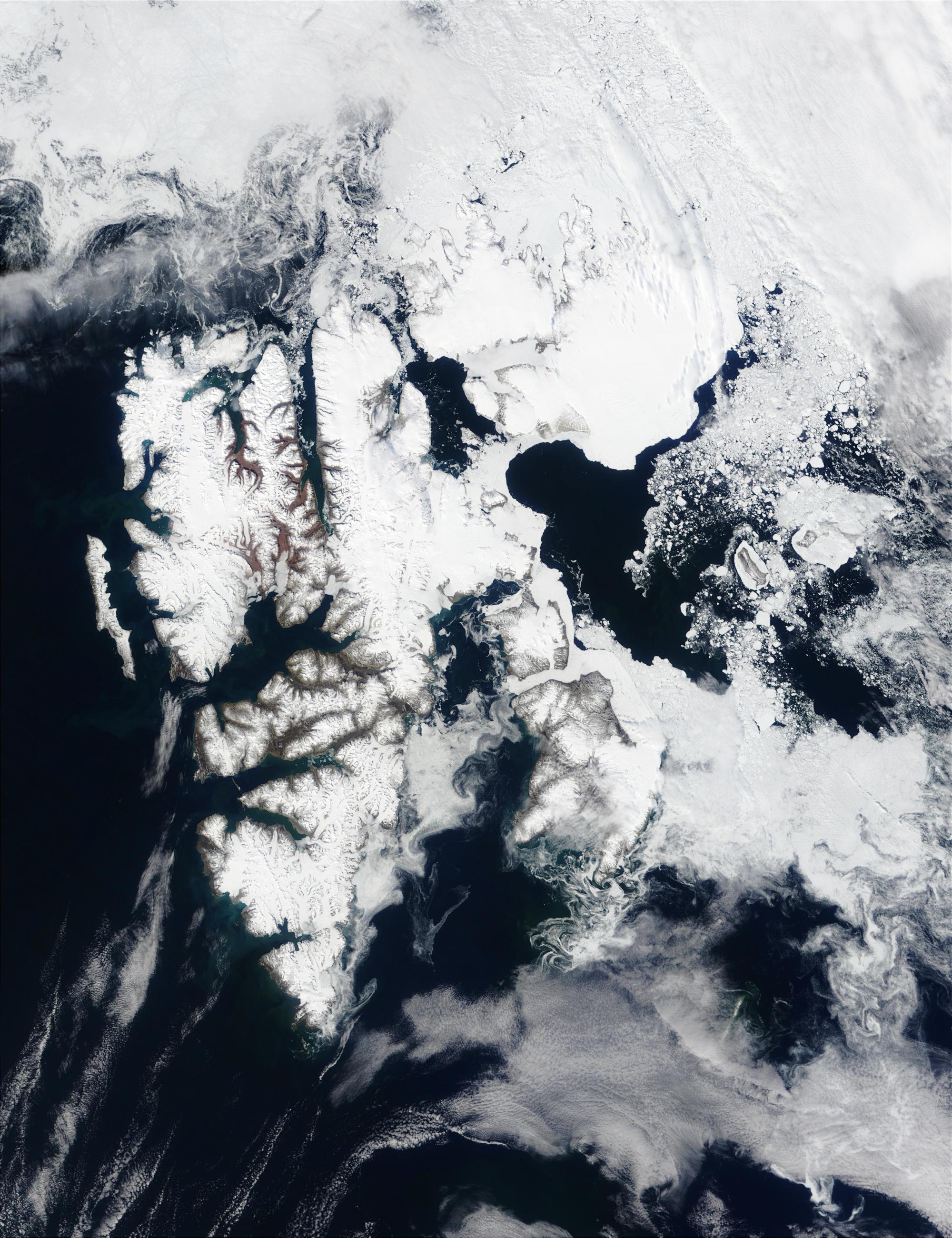 Svalbard, Arctic Ocean