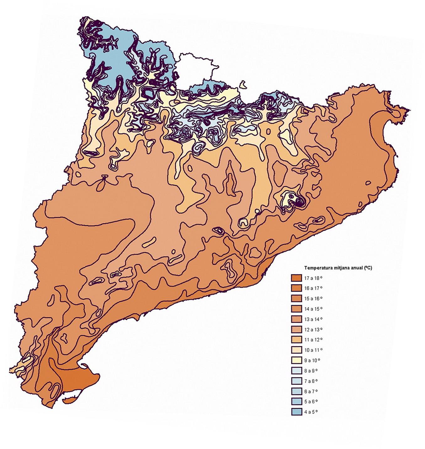 Temperatura de Cataluña