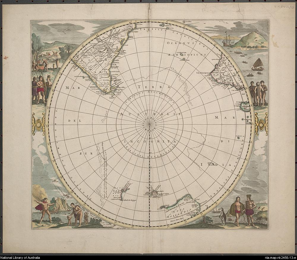 Terra Australis Incognita 1657