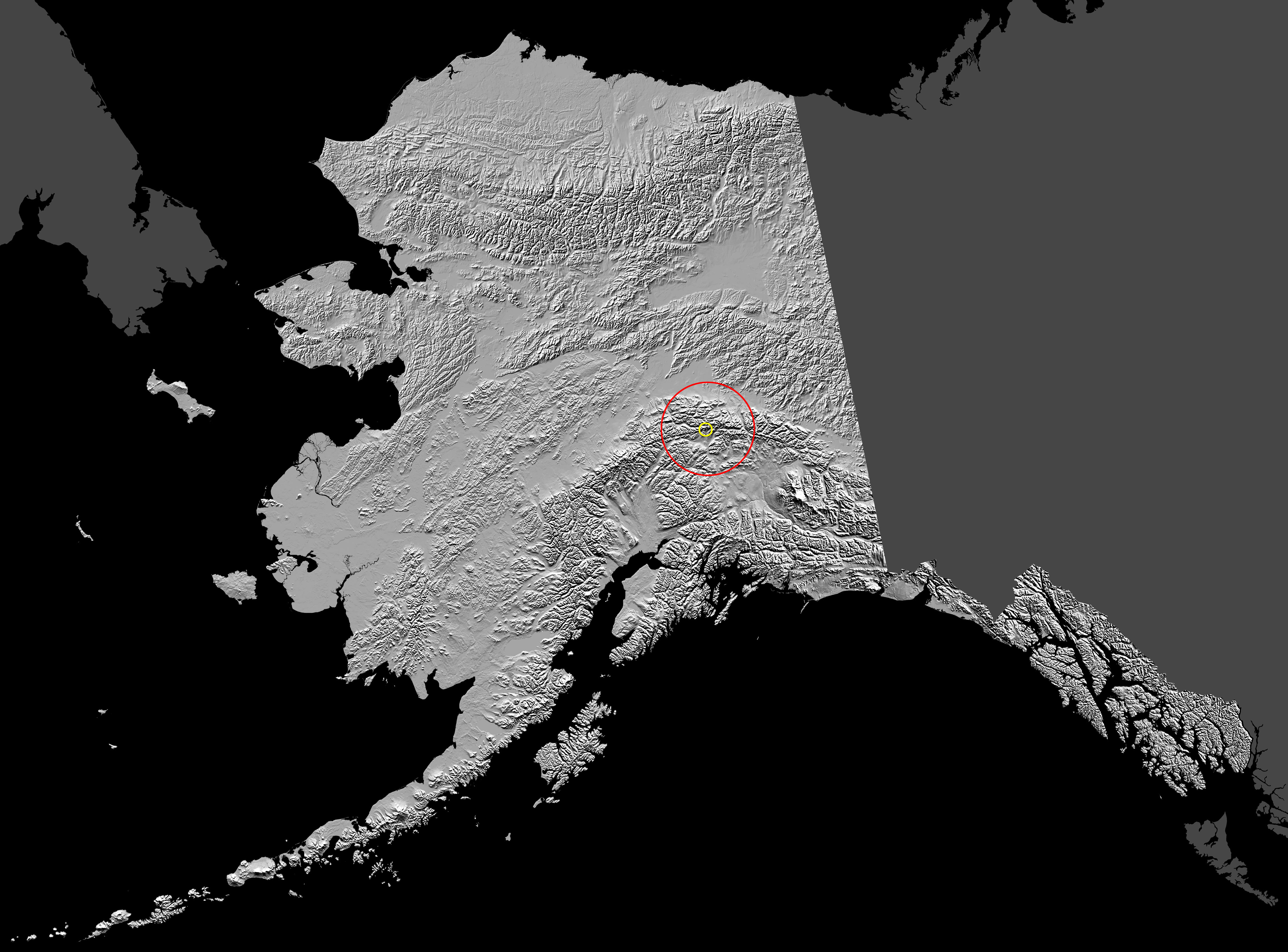 Terremoto golpea Alaska el 3 de noviembre 2002
