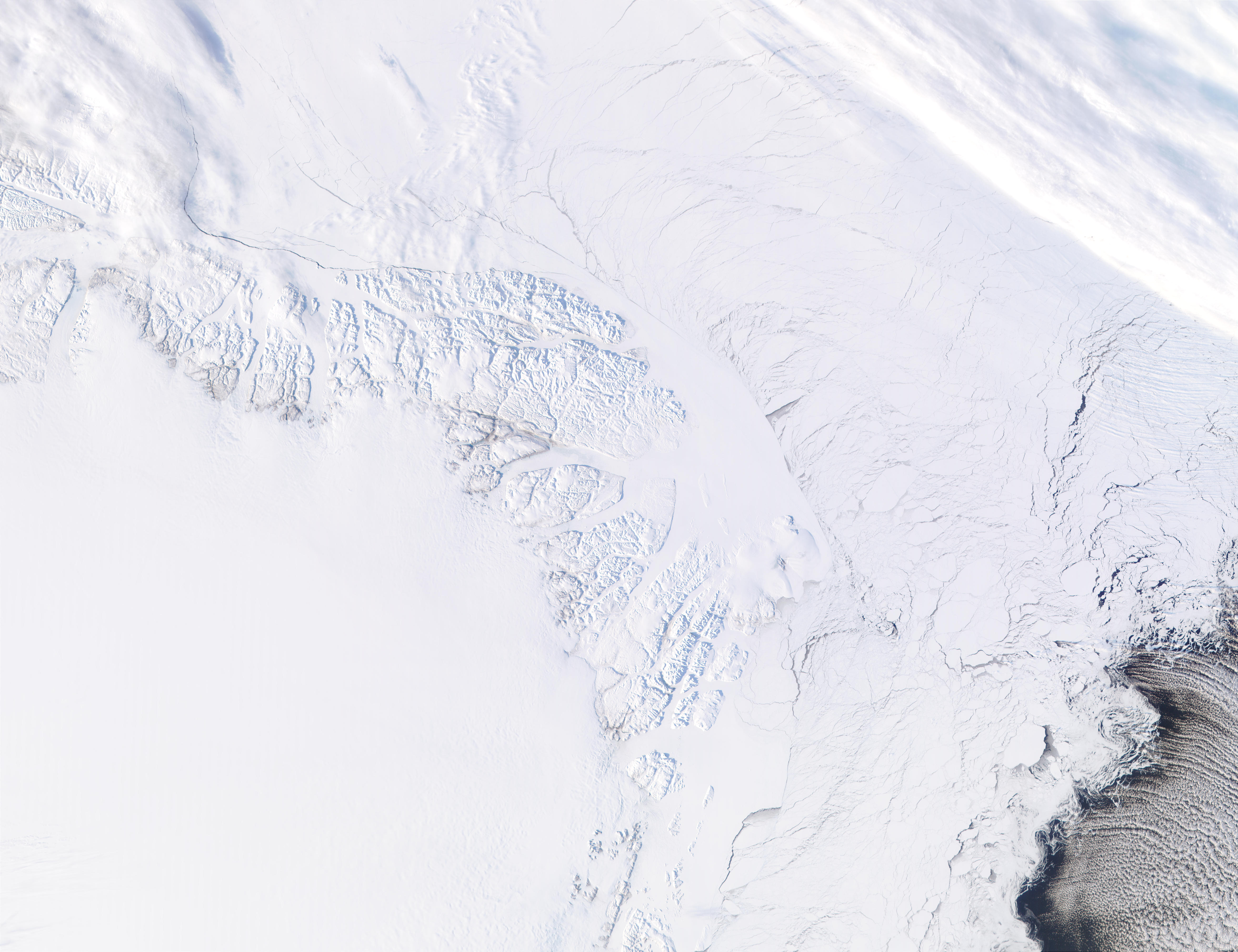 Tierra de Peary, norte de Groenlandia