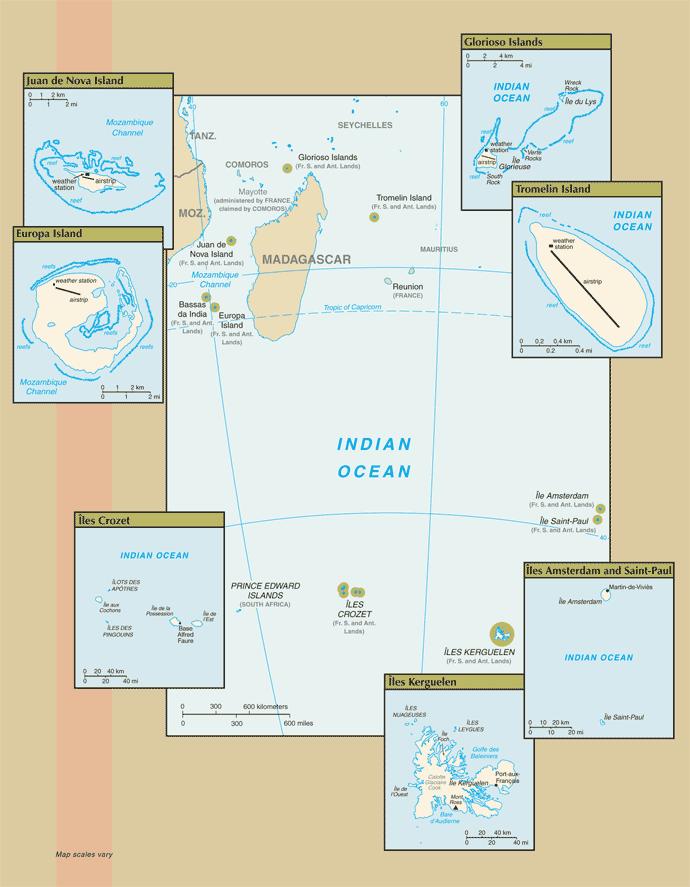 Tierras Australes y Antárticas Francesas 2007