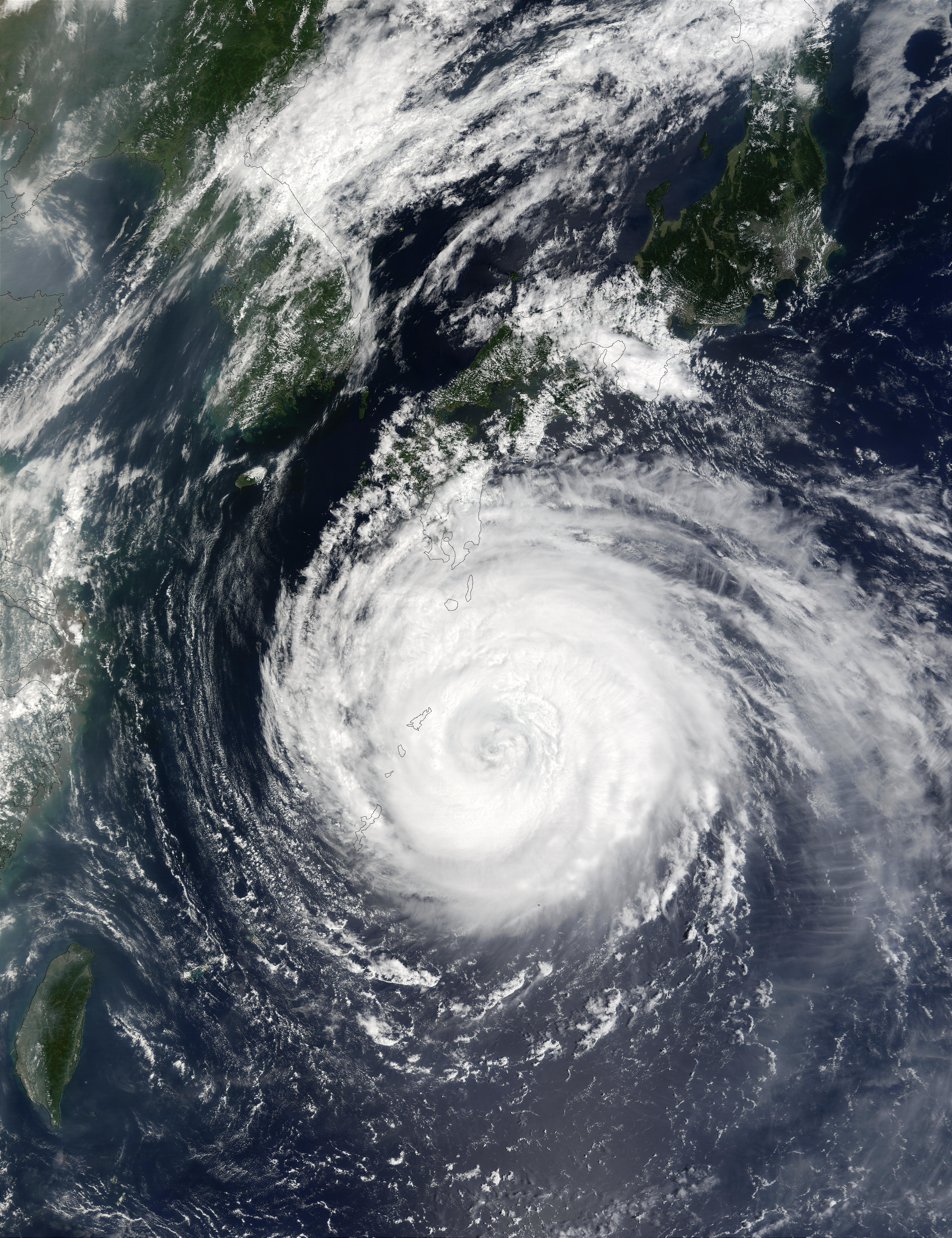Typhoon Rusa