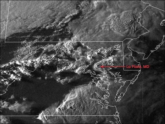 Tornado impacta La Plata, Maryland