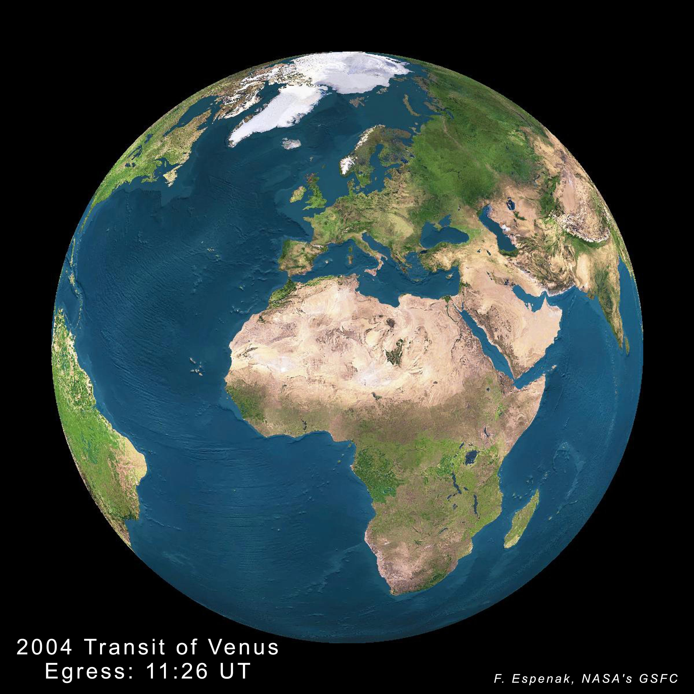 Transit of Venus of June 8, 2004