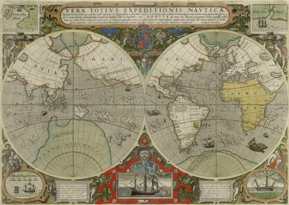 Vera Totius Expeditionis Nauticae 1595