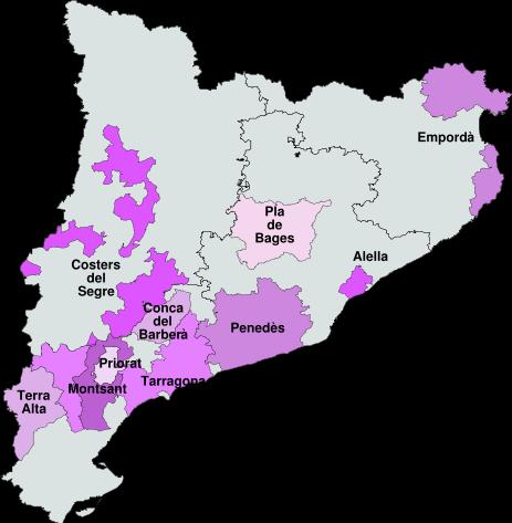 Vinos de Cataluña 2008