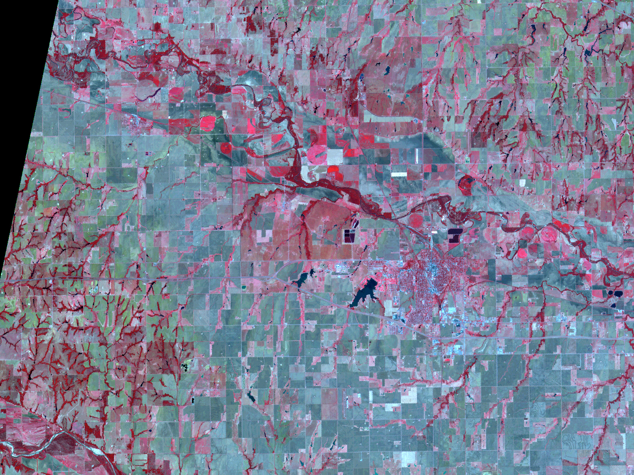 A Multi-spectral Look at El Reno, Oklahoma