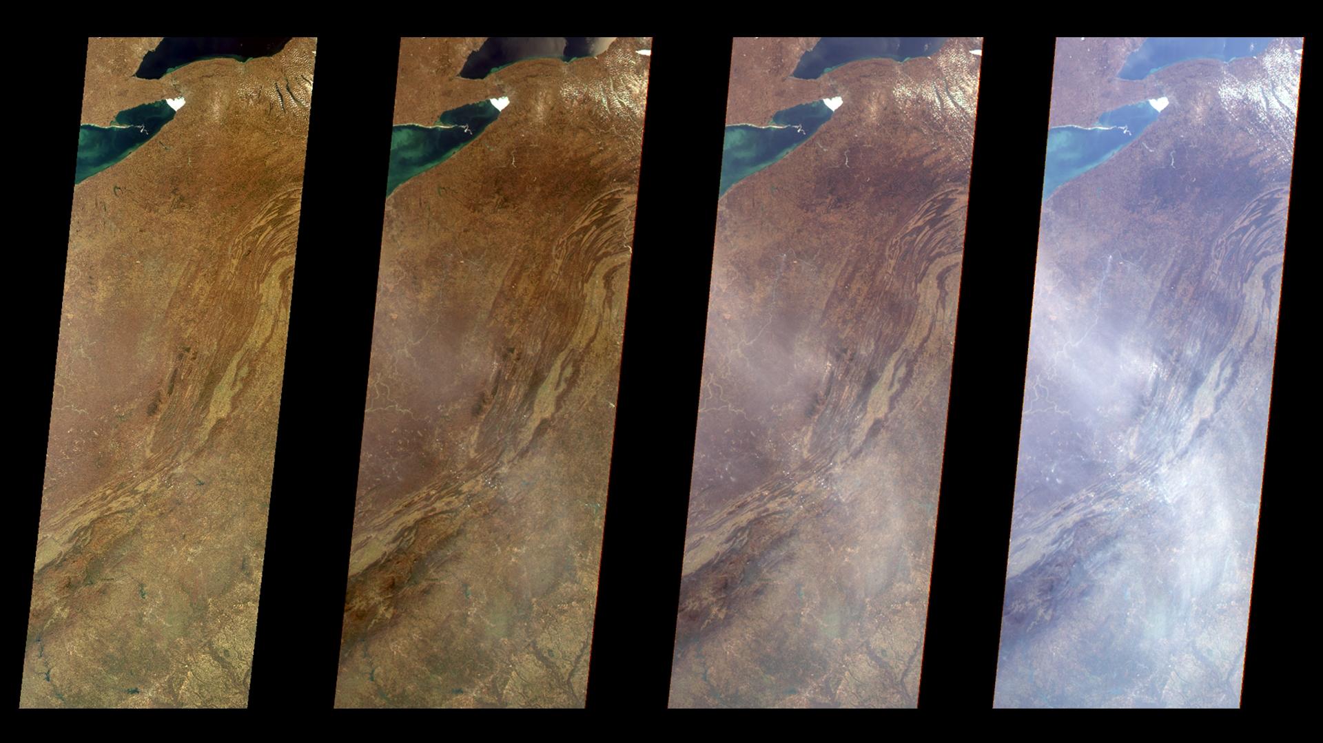 Vista Vertical de las Montañas Apalaches