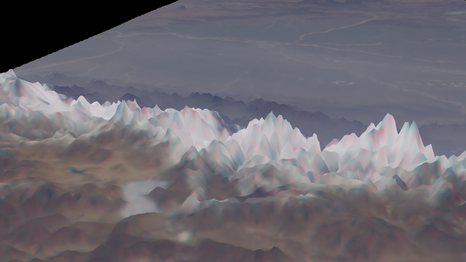 Himalaya Range Oblique View from MISR
