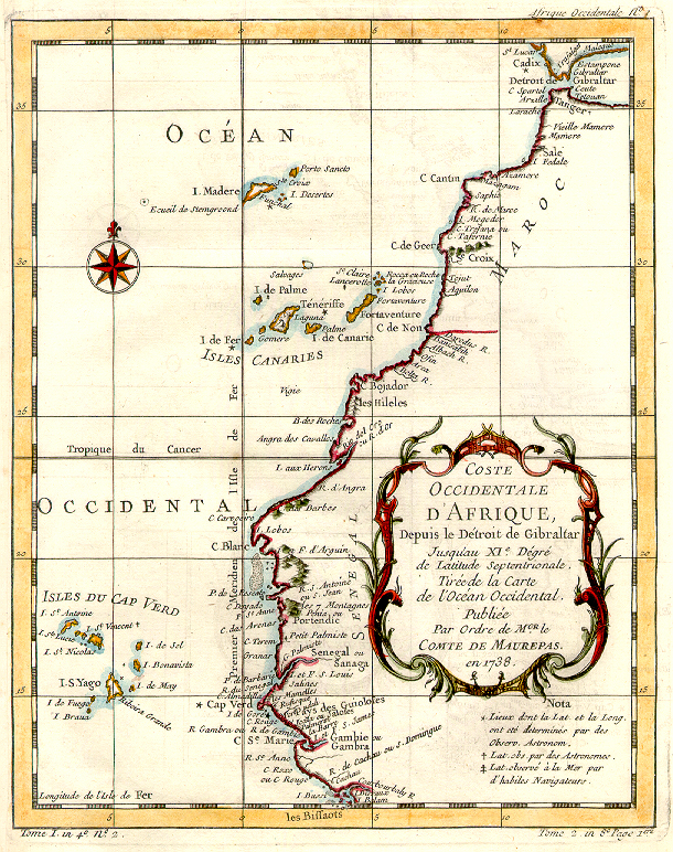 West Africa in 1738