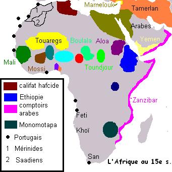 África del siglo XV