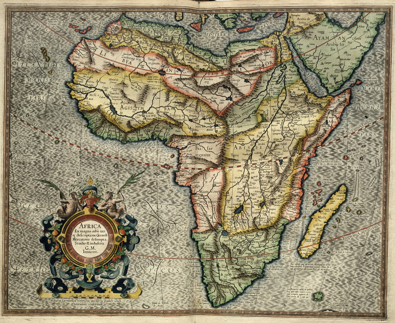 Africa in 1595