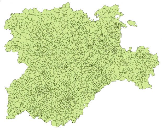 Municipios de Castilla y León 2003