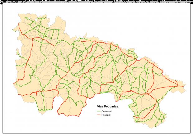Vías pecuarias de La Rioja 2007