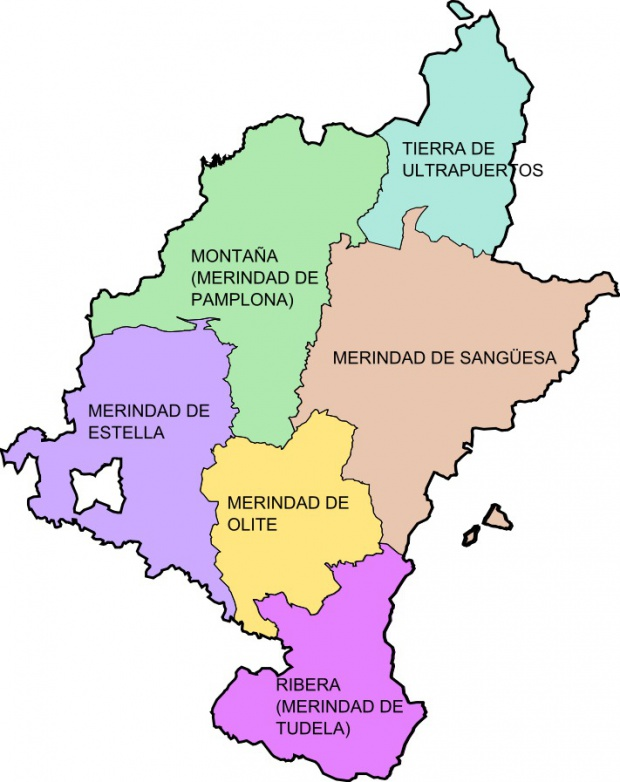 Kingdom of Navarre's Merindades 1463-1523