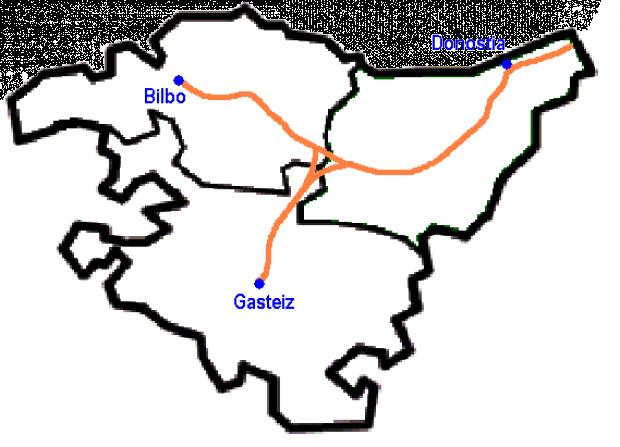 Línea ferroviaria de alta velocidad del País Vasco
