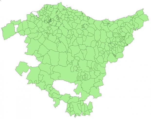 Municipios del País Vasco 2003