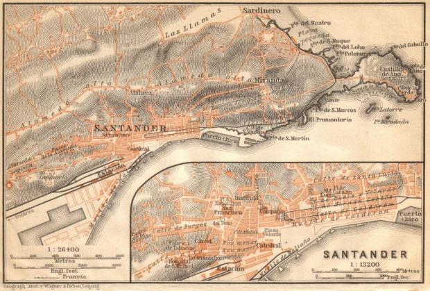 Santander y alrededores en 1899