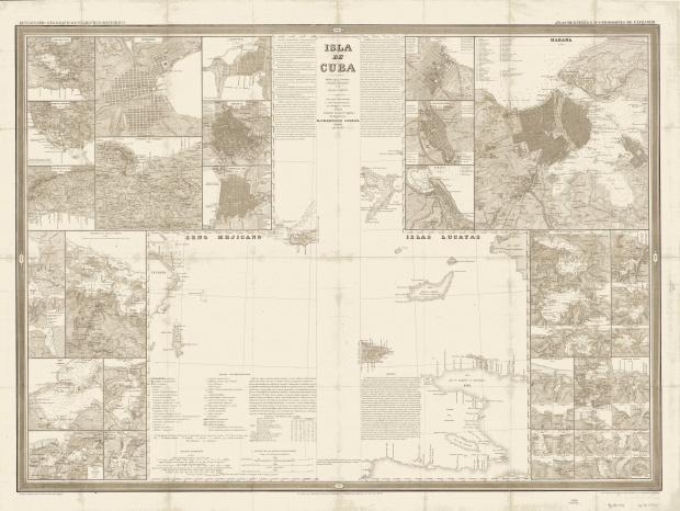 Island of Cuba 1851