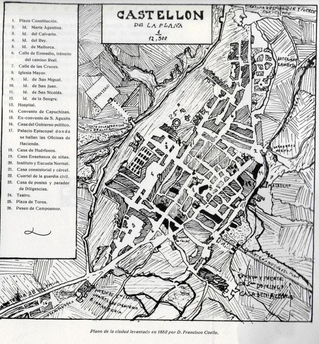 Mapas politico de castell n de la plana - Muebles en castellon dela plana ...