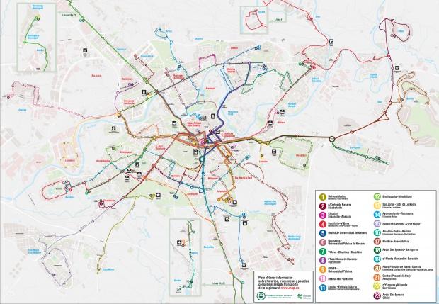 Pamplona urban transport