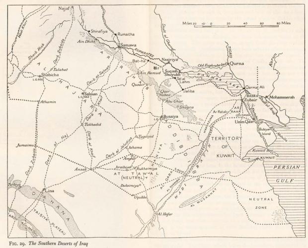 Desiertos del Sur de Irak 1944