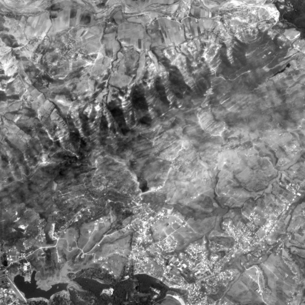 Vista Satelital de Tirana 2003