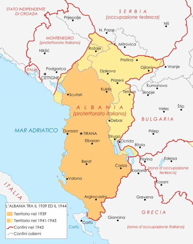 Albania during World War II