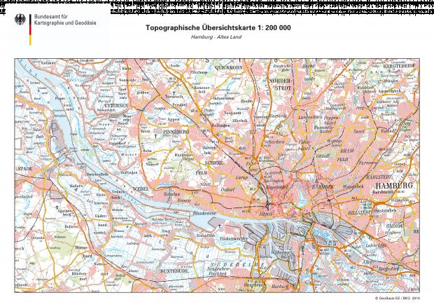 Hamburg map 2010