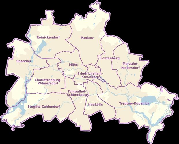 Berlín y sus distritos 2010