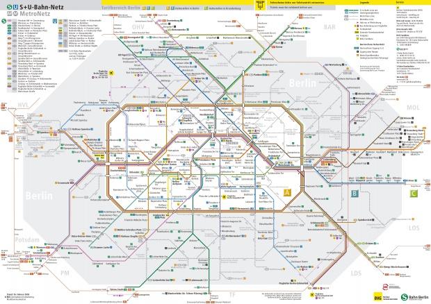 Berlin subway 2005
