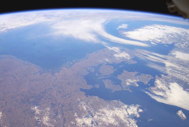 Schleswig-Holstein desde el espacio 2003
