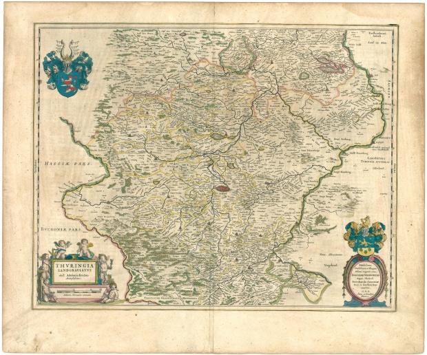 Landgraviato de Turingia 1645