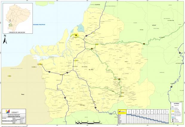 Mapa de El Oro 2010