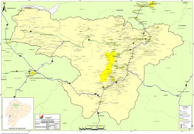 Mapa de Pichincha 2010