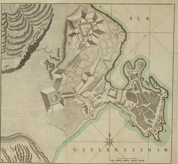 City, Plaza and Forces of Melilla 1793