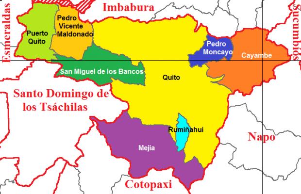 Cantones de Pichincha 2011
