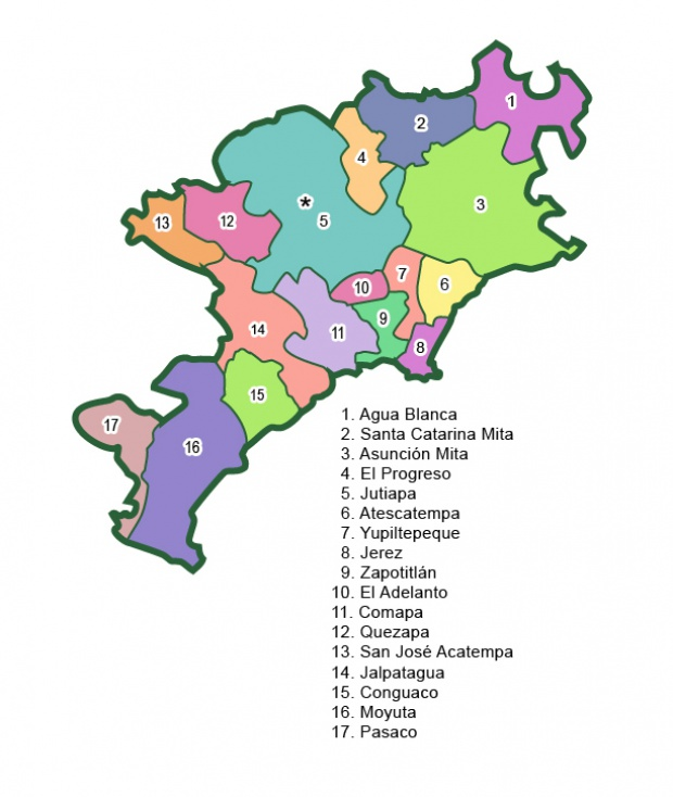 Municipios de Jutiapa