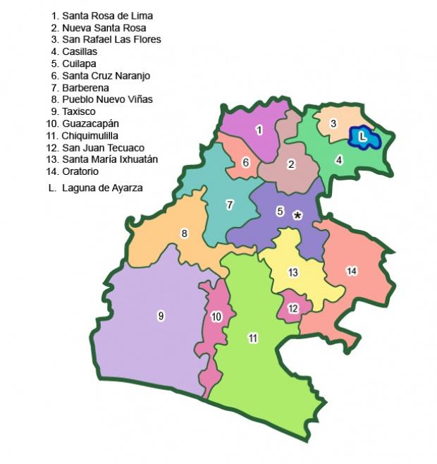 Municipios de Santa Rosa