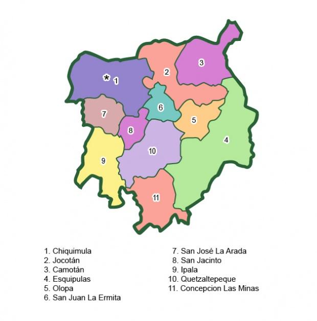 Municipios de Chiquimula