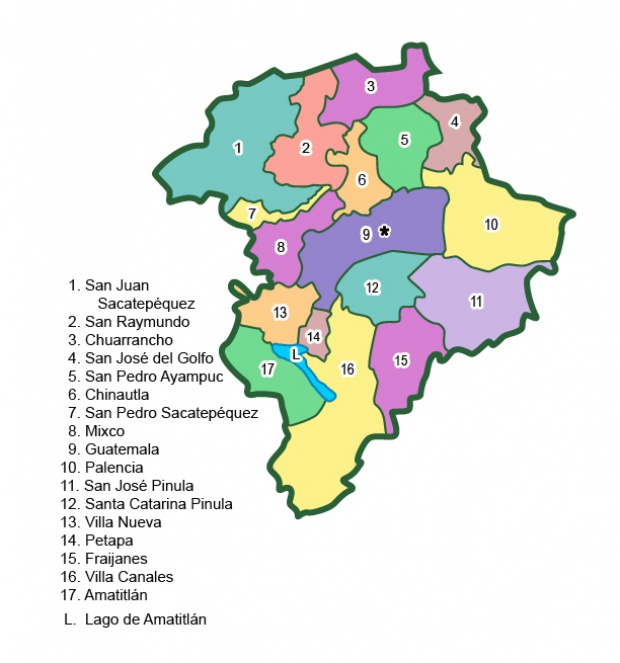 Municipios de Guatemala (departamento)
