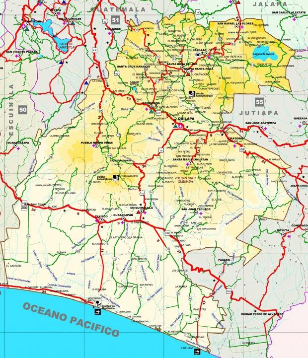 Mapa de Santa Rosa