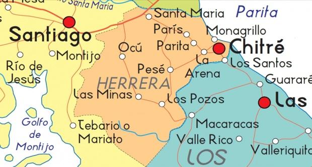 Mapa de Herrera