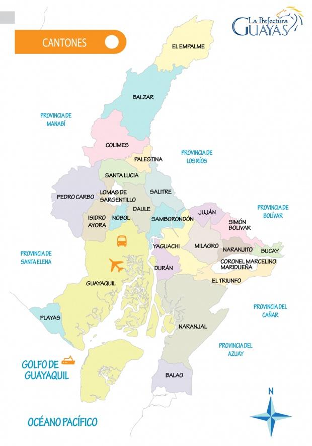 Cantones del Guayas